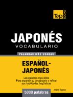Vocabulario Español-Japonés