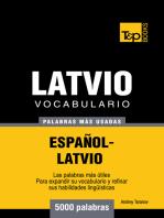 Vocabulario Español-Latvio