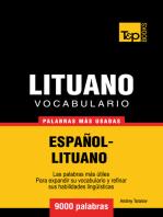 Vocabulario Español-Lituano