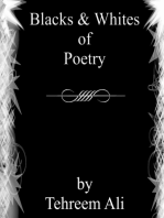 Blacks & Whites of Poetry