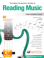 The Bass Guitarist's Guide to Reading Music: Intermediate Level