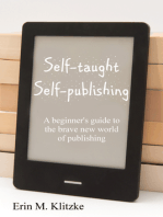 Self-Taught Self-Publishing