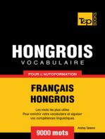 Vocabulaire Français-Hongrois pour l'autoformation