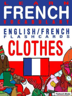 Learn French Vocabulary