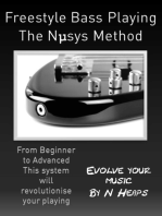 Freestyle Bass Playing The Nμsys Method