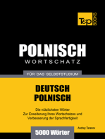 Deutsch-Polnischer Wortschatz für das Selbststudium