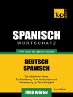 Deutsch-Spanischer Wortschatz für das Selbststudium