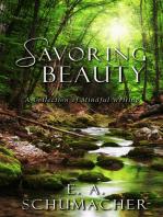 Savoring Beauty