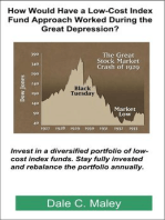 How Would Have a Low-Cost Index Fund Approach Worked During the Great Depression?