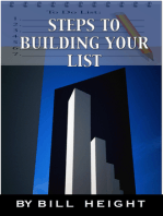 Steps To Building Your List