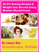30 DIY Beauty Recipes and Weight Loss Secrets Every Woman Should Know