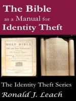 The Bible as a Manual for Identity Theft
