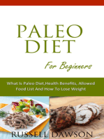 Paleo Diet For Beginners :What is Paleo Diet, Health Benefits, Allowed Food List And How To Lose Weight