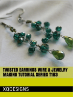 Twisted Earrings Wire & Jewelry Making Tutorial Series T163