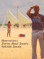 Observations. Stories About Society.