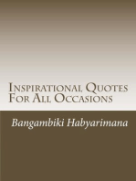 Inspirational Quotes For All Occasions