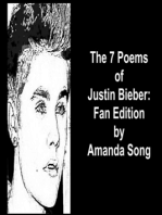 The 7 Poems of Justin Bieber
