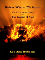 Before Whom We Stand