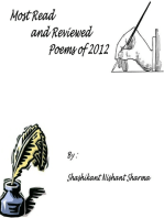 Most Read and Reviewed Poems of 2012