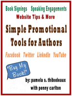 Simple Promotional Tools for Authors