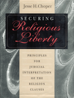 Securing Religious Liberty
