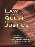 Law and the Quest for Justice