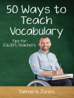 Fifty Ways to Teach Vocabulary