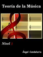 Teoría de la Música: Nivel 1