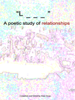 """""""L _ _ _"""" A poetic study of relationships"""