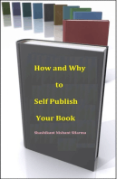 How and Why to Self-Publish your Book and Ebook