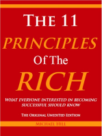 The 11 Principles of the Rich