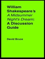 "William Shakespeare's ""A Midsummer Night's Dream"""