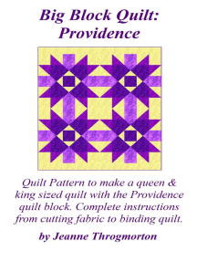 Big Block Quilt: Providence