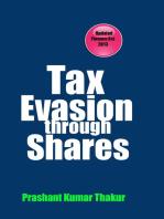 Tax Evasion Through Shares