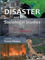 Disaster and Sociolegal Studies