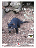 14 Fun Facts About Tasmanian Devils