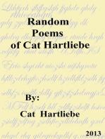 Random Poems of Cat Hartliebe