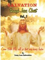 Salvation Through Jesus Christ.