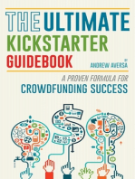 The Ultimate Kickstarter Guidebook