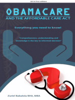 Obamacare and The Affordable Care Act
