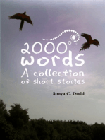2000 Words A Collection of Short Stories