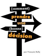 Comment prendre une bonne décision