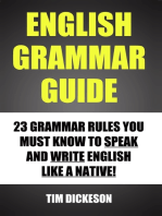 English Grammar Guide: 23 Grammar Rules You Must Know To Speak and Write English Like A Native