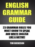 English Grammar Guide