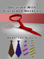 Decorate With Discarded Neckties