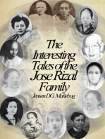 The Interesting Tales of the Jose Rizal Family