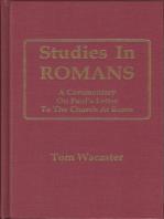 Studies In Romans