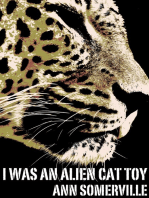 I Was an Alien Cat Toy