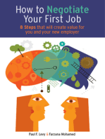 How to Negotiate Your First Job