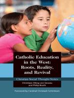 Catholic Education in the West
